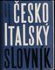 Česko-italský slovník : Dizionario Ceco-Italiano