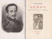 Démon : bouřlivý život básníka M. Lermontova : román
