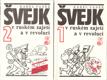 Švejk v ruském zajetí a v revoluci. 1-2