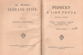 Písničky a jiná prosa : obrázky a studie