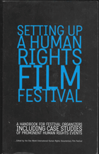 Setting up a human rights film festival