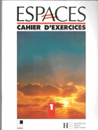 Espaces 1, Cahier d'exercices